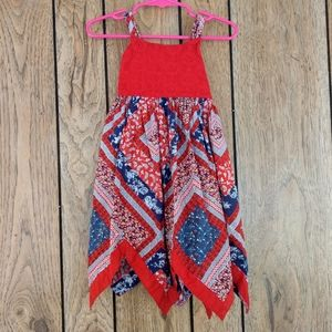 Fourth of July Handkerchief Dress